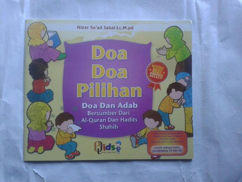 Buku Anak Doa-doa Pilihan dan Adab cover