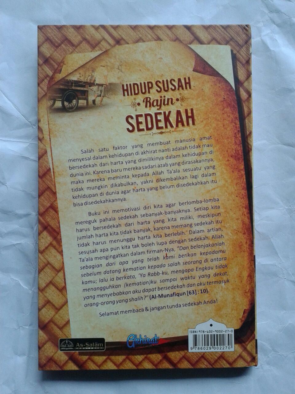 Buku Hidup Susah Rajin Sedekah 38,000 15% 32,300 cover 2