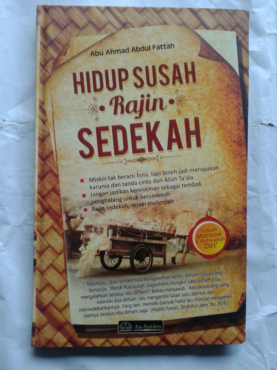 Buku Hidup Susah Rajin Sedekah 38,000 15% 32,300 cover
