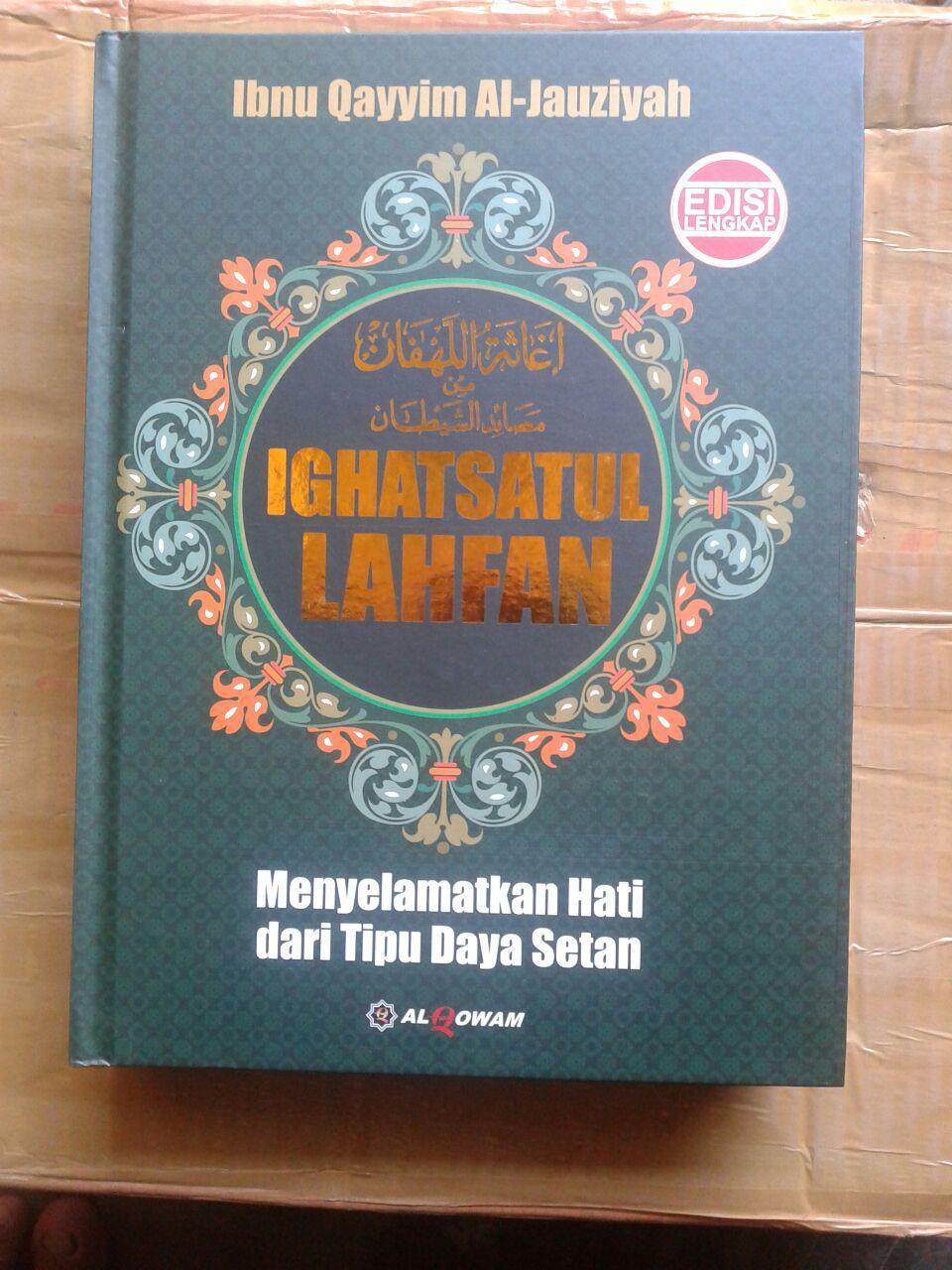 Buku Ighatsatul Lahfan (Menyelamatkan Hati Dari Tipu Daya Setan) cover