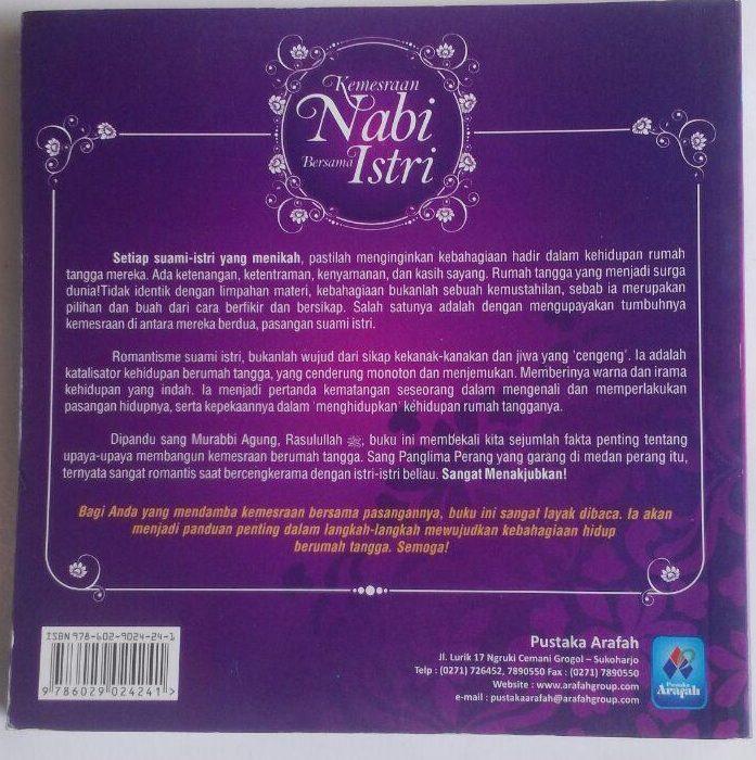 Buku Kemesraan Nabi Bersama Istri cover