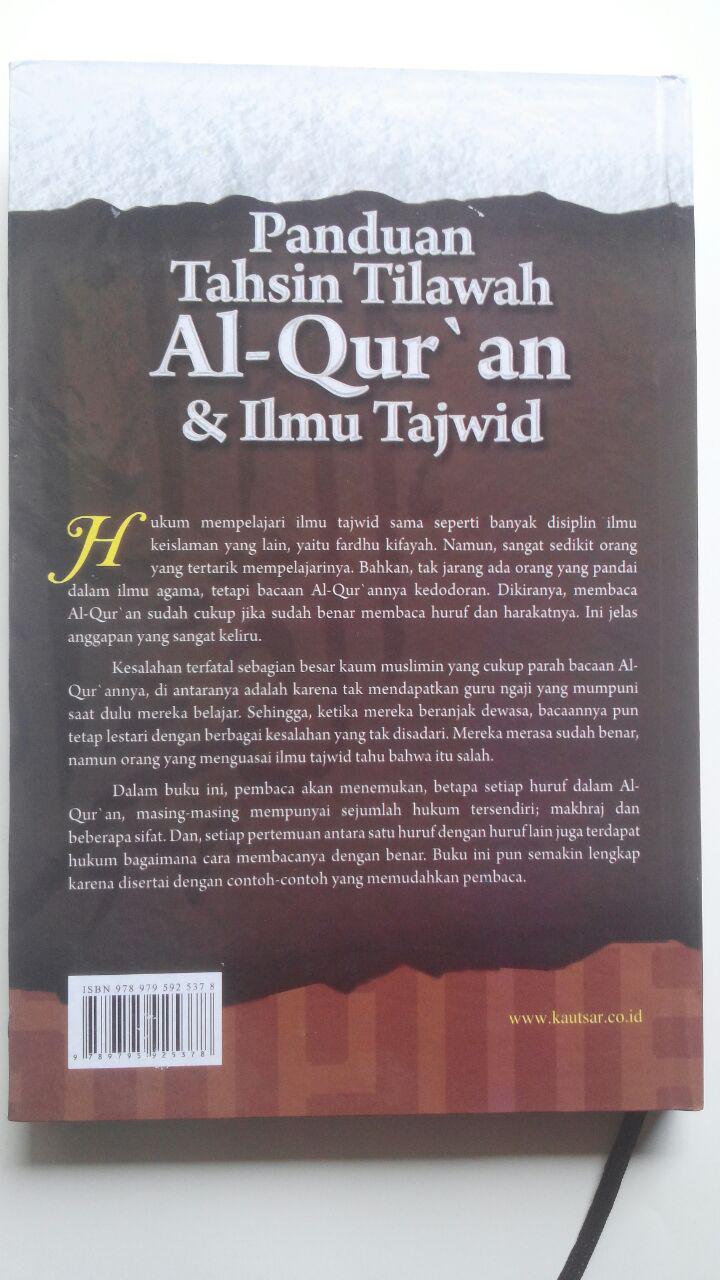 Buku Panduan Tahsin Tilawah Al-Qur'an Dan Ilmu Tajwid cover