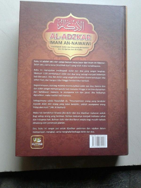 Buku Al-Adzkar Imam An Nawawi Ensiklopedi Dzikir dan Doa cover 2