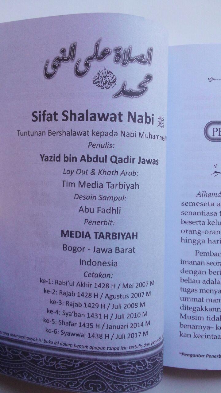 Buku Saku Sifat Shalawat Nabi isi 2