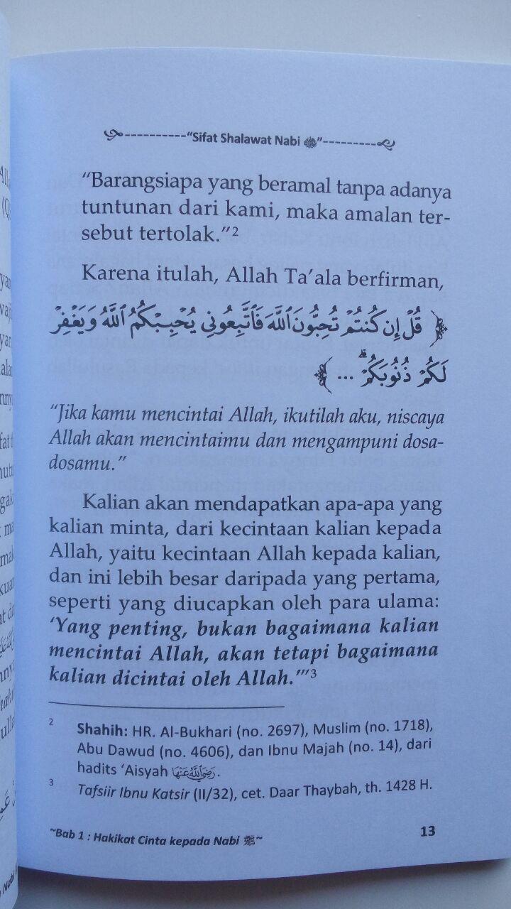 Buku Saku Sifat Shalawat Nabi isi 3