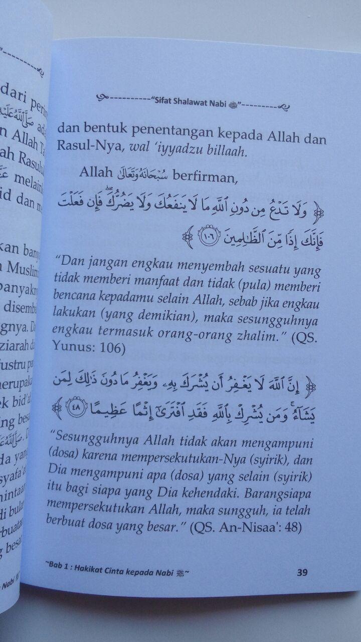 Buku Saku Sifat Shalawat Nabi isi 4