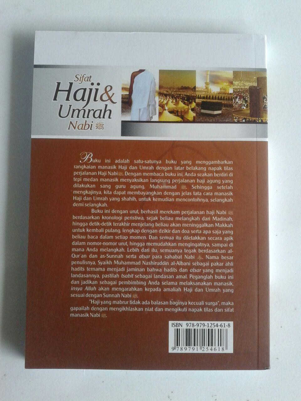 Buku Sifat Haji dan Umrah Nabi cover