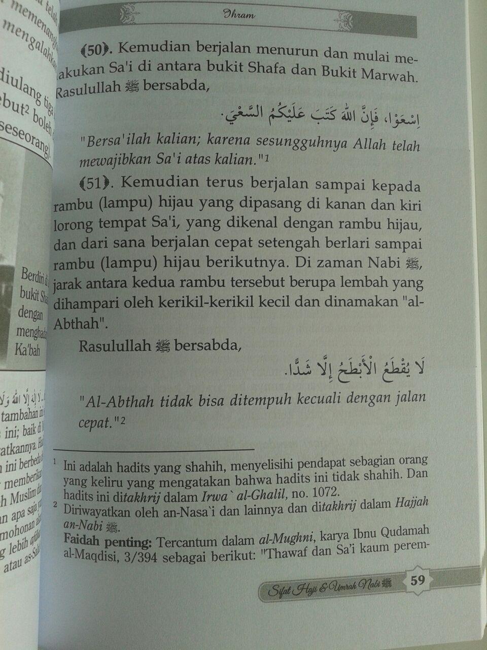 Buku Sifat Haji dan Umrah Nabi isi 2