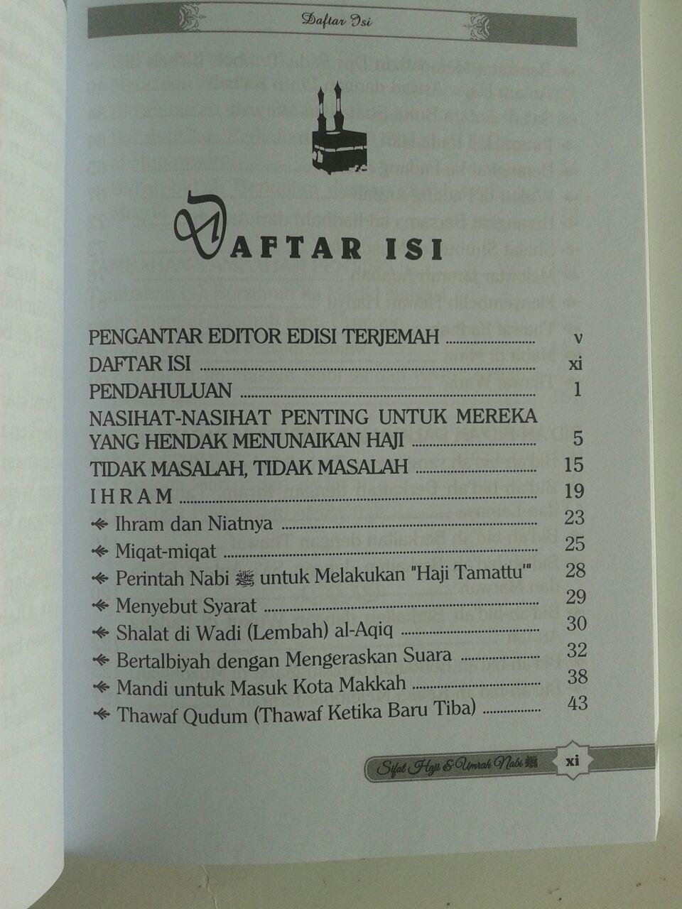 Buku Sifat Haji dan Umrah Nabi isi 3