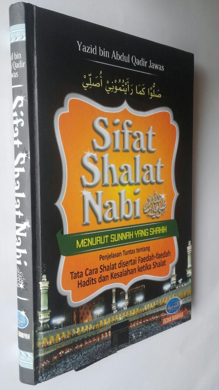 Buku Sifat Shalat Nabi 100,000 cover 2