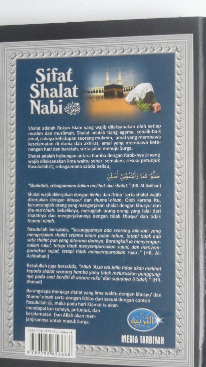 Buku Sifat Shalat Nabi 100,000 isi