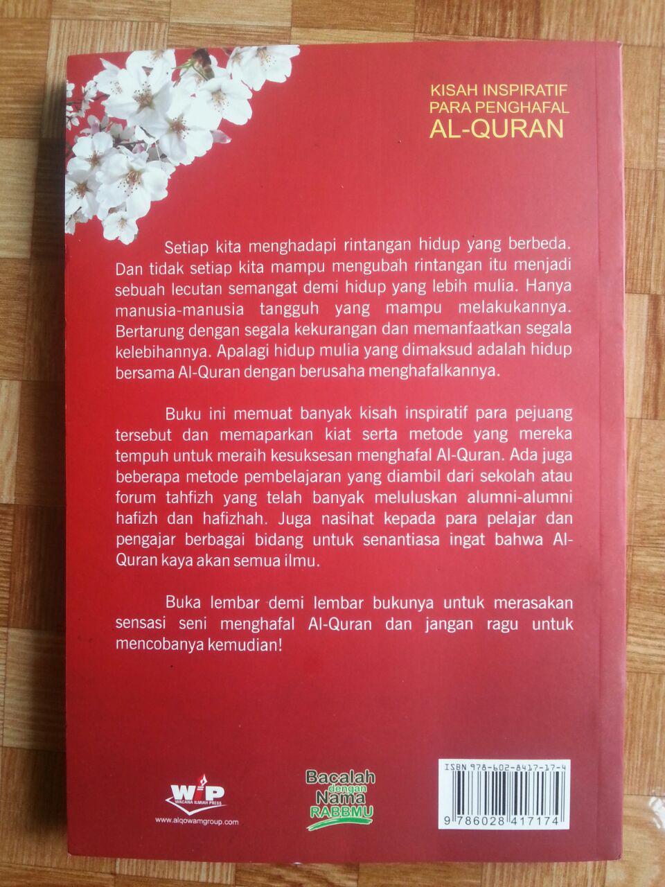 Buku Kisah Inspiratif Penghafal Al-Quran cover