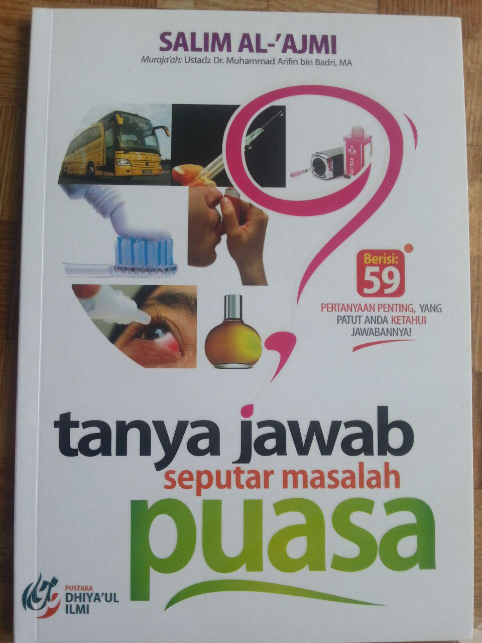 Buku Tanya Jawab Seputar Masalah Puasa cover 2