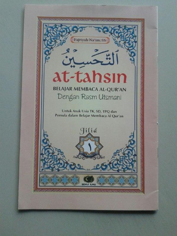 Kitab At-Tahsin Belajar Baca Al-Quran Rasm Utsmani (6 Jilid) cover 2