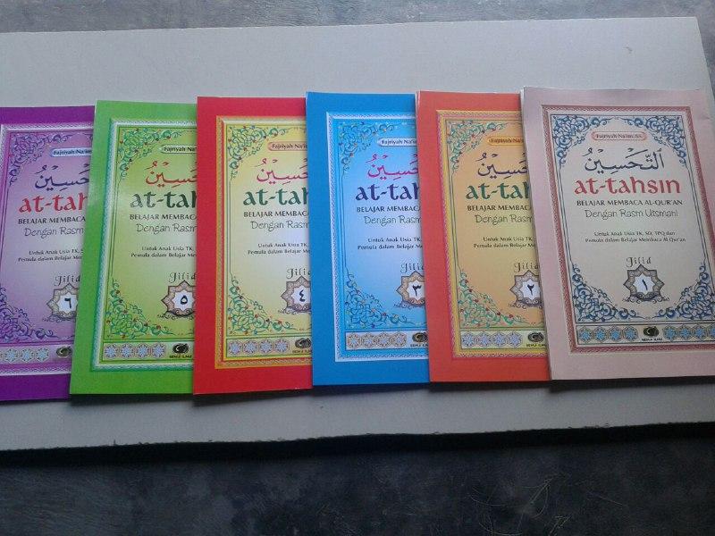 Kitab At-Tahsin Belajar Baca Al-Quran Rasm Utsmani (6 Jilid) cover