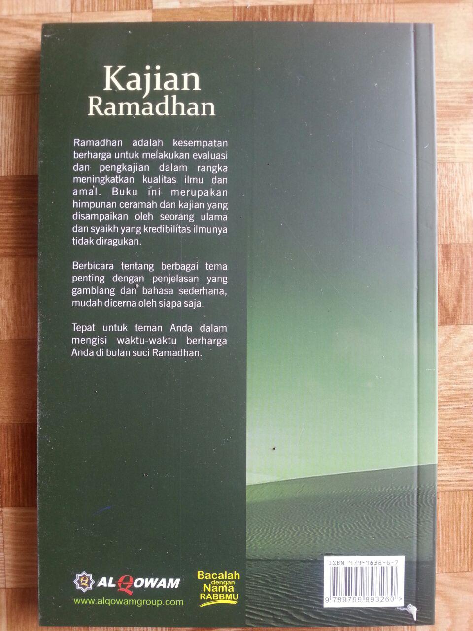 Buku Kajian Ramadhan cover