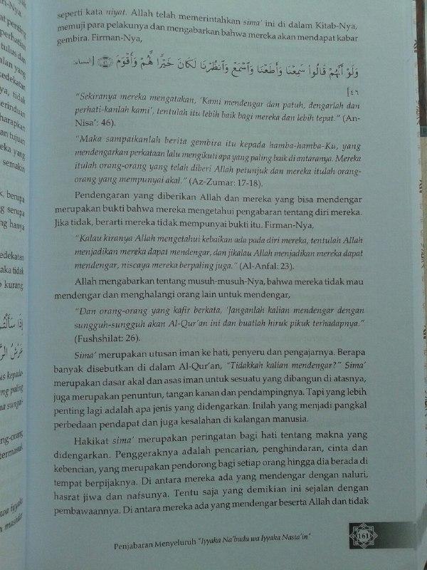 Buku Madarijus Salikin Pendakian Menuju Allah isi