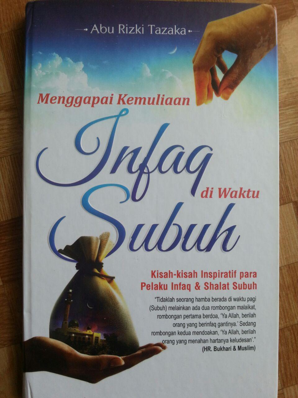 Buku Menggapai Kemuliaan Infak di Waktu Subuh cover 2