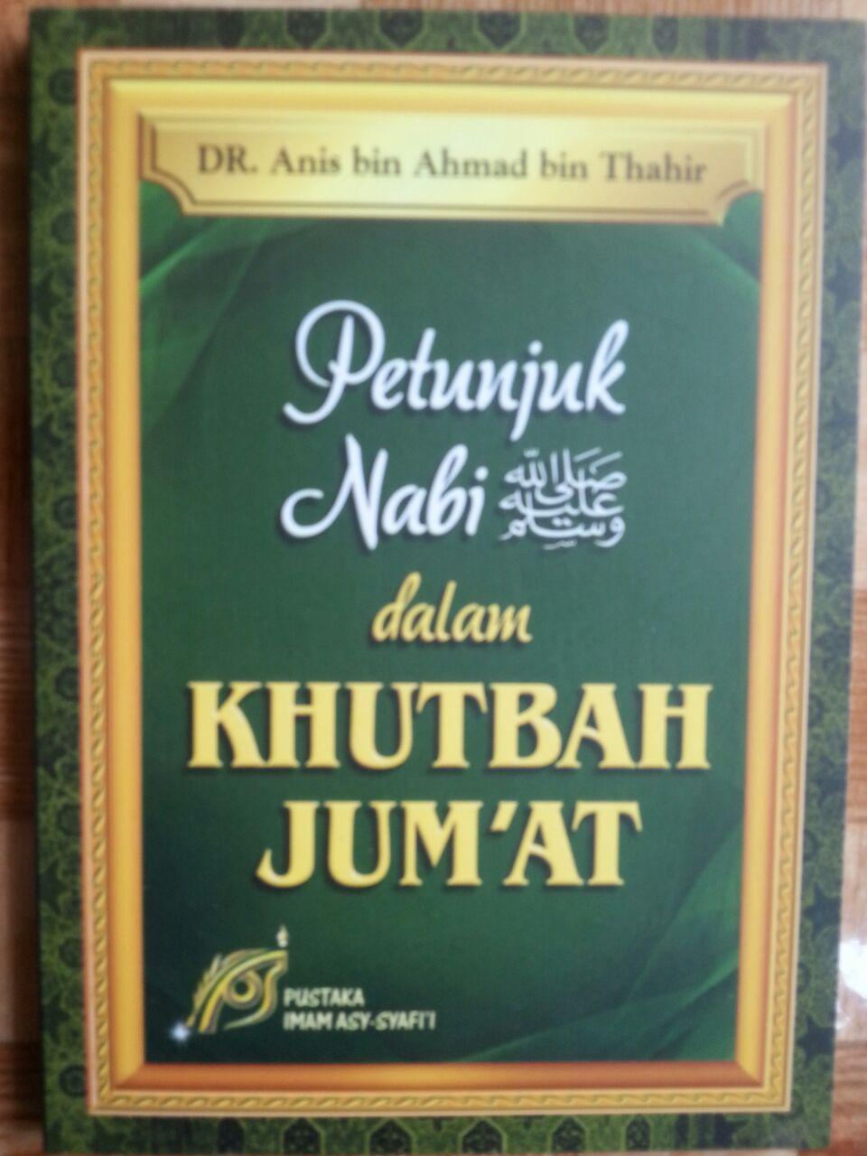 Buku Petunjuk Nabi Dalam Khutbah Jumat cover 2