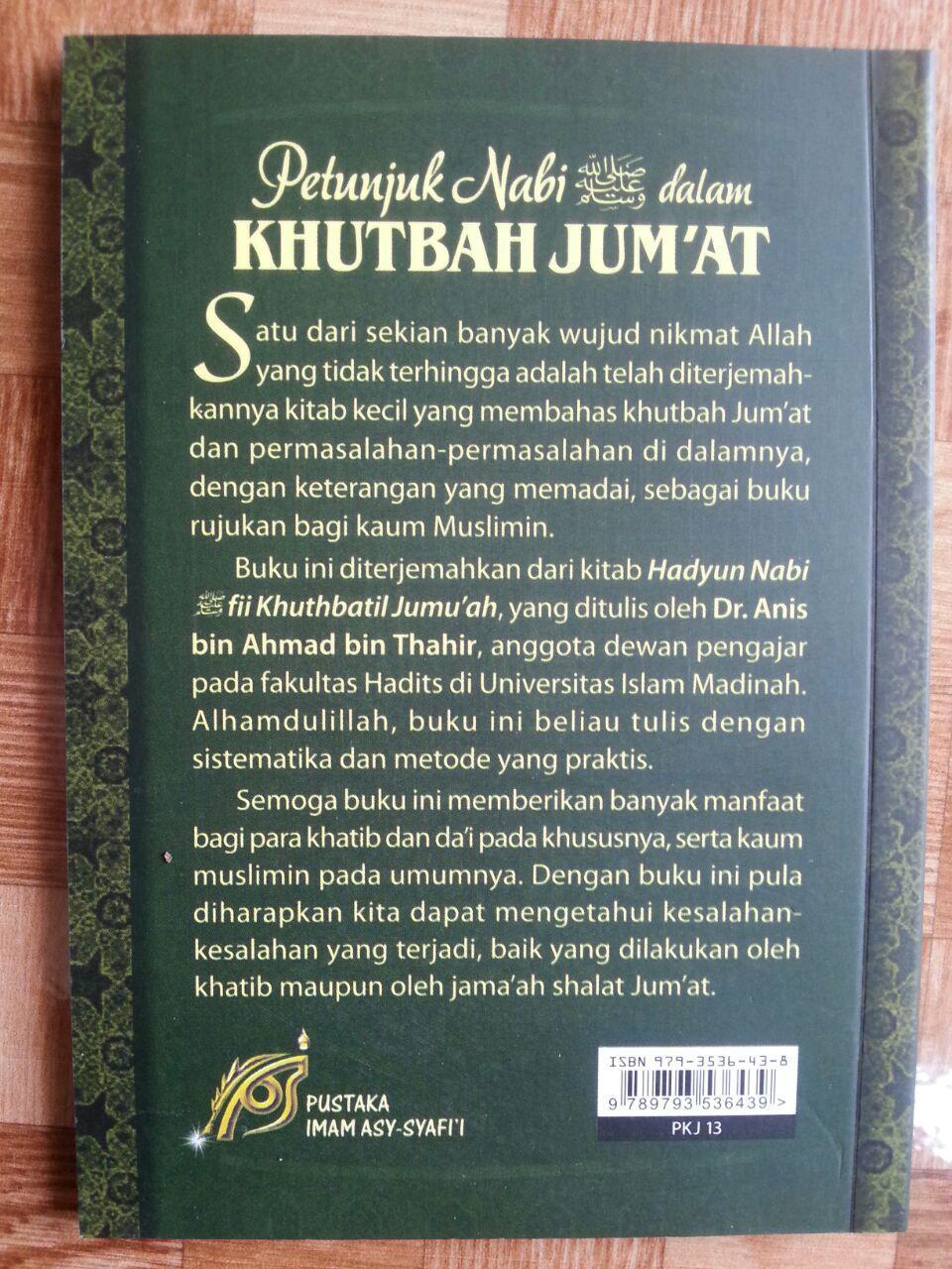 Buku Petunjuk Nabi Dalam Khutbah Jumat cover
