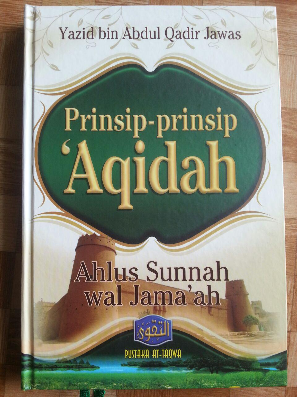 Buku Prinsip-Prinsip Aqidah Ahlus Sunnah Wal Jamaah cover 2