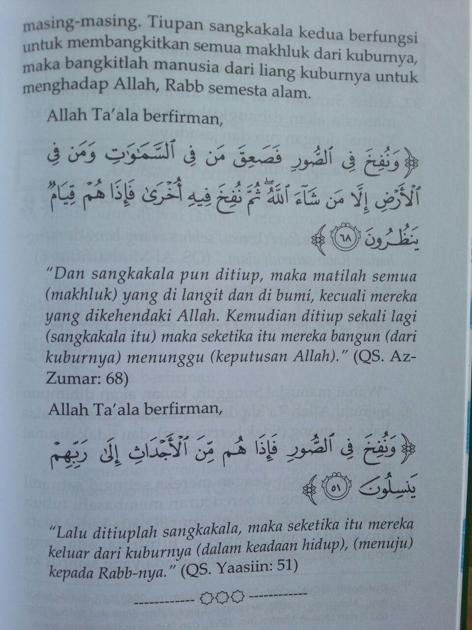Buku Prinsip-Prinsip Aqidah Ahlus Sunnah Wal Jamaah isi 4