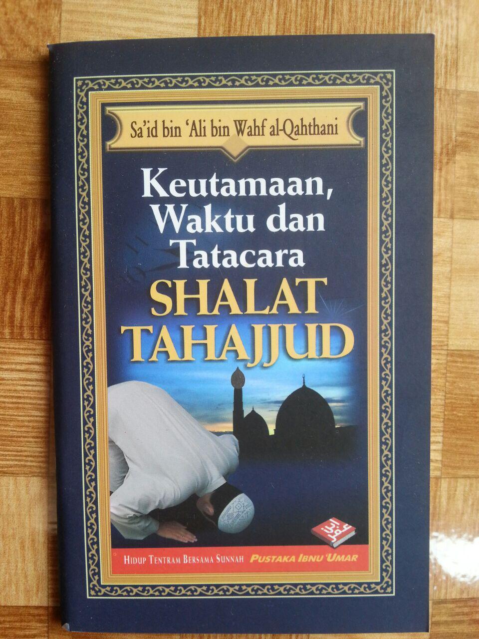 Buku Saku Keutamaan Waktu dan Tata Cara Shalat Tahajjud cover 2