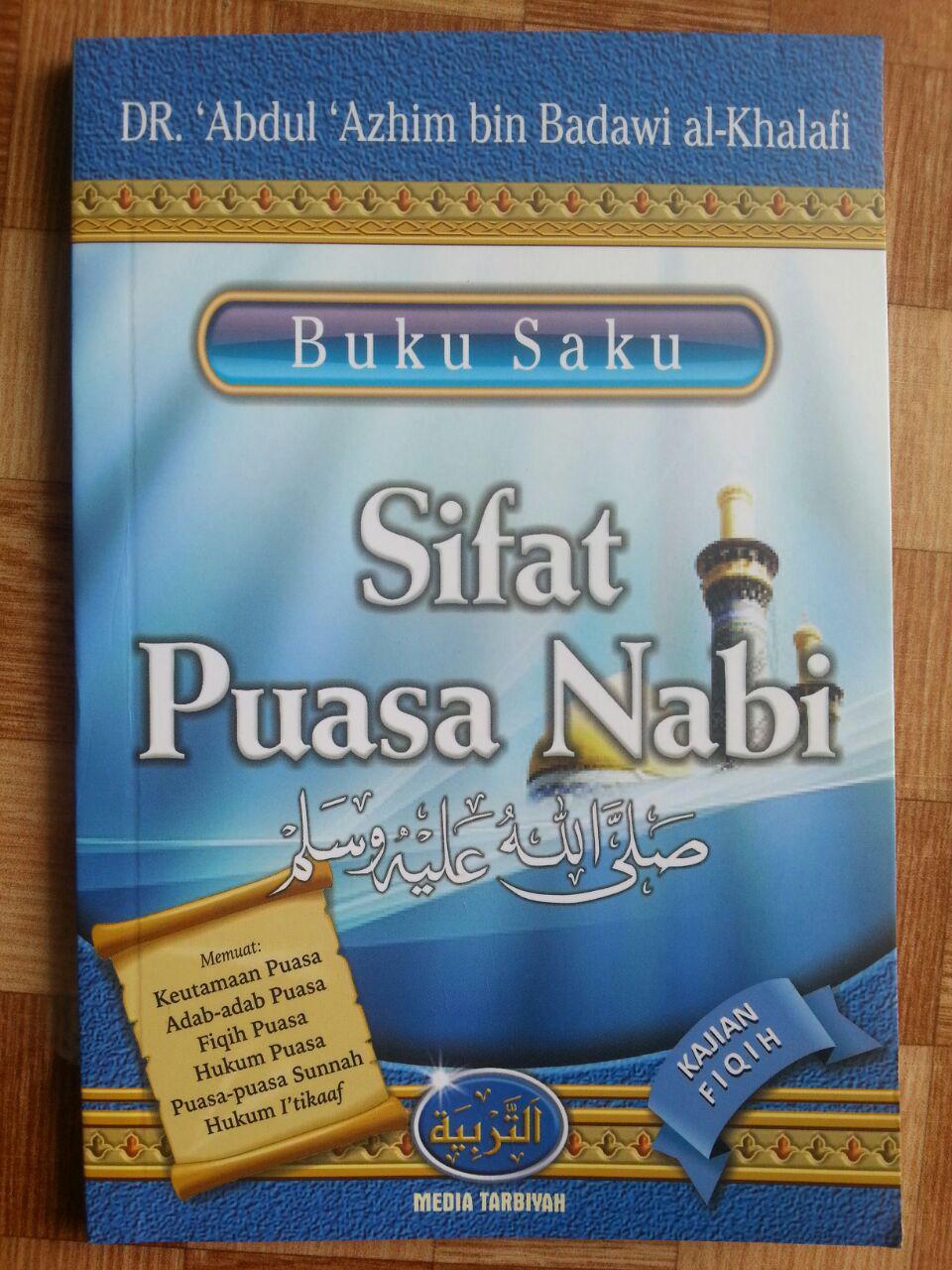 Buku Saku Sifat Puasa Nabi cover 2