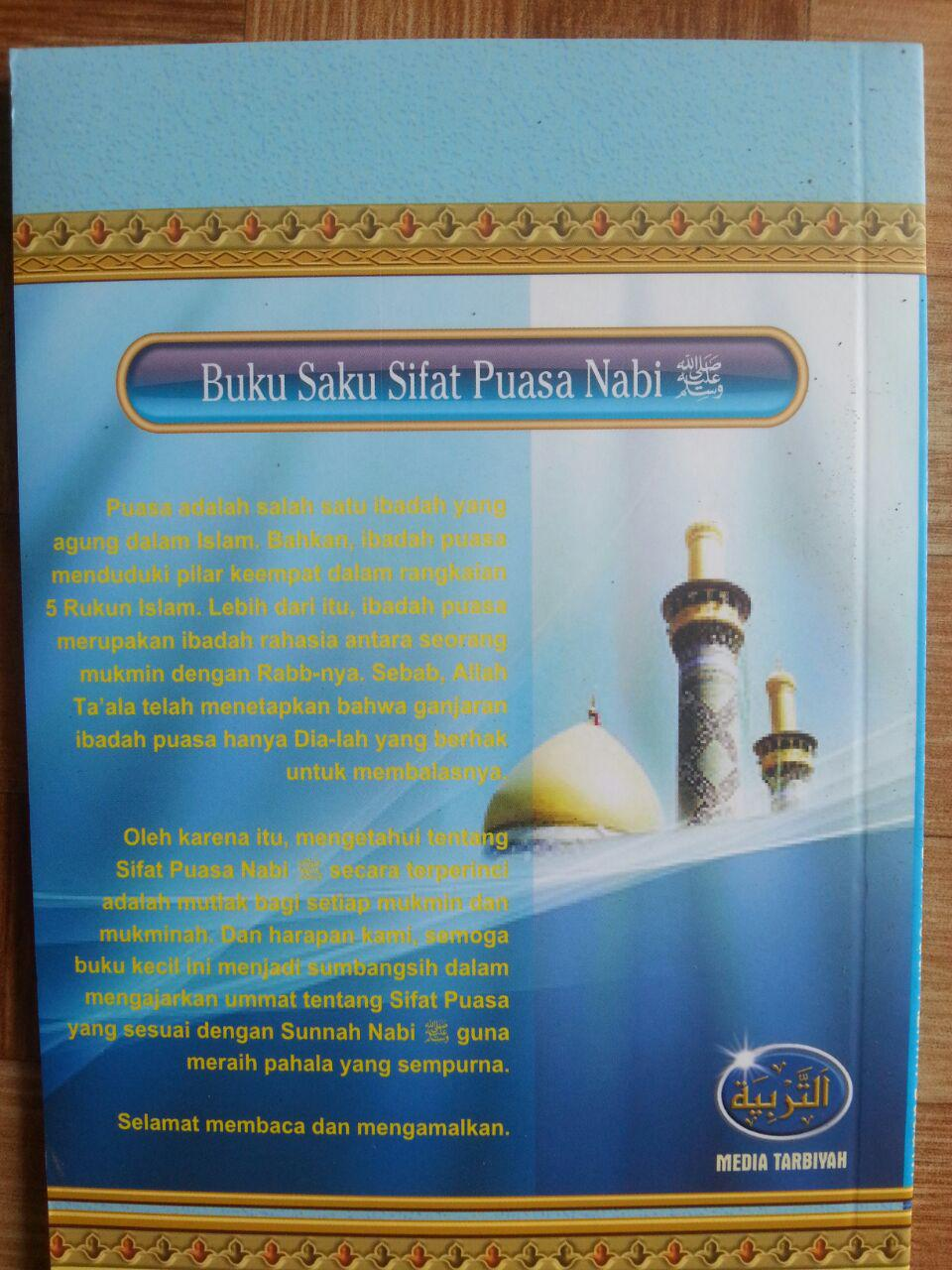 Buku Saku Sifat Puasa Nabi cover