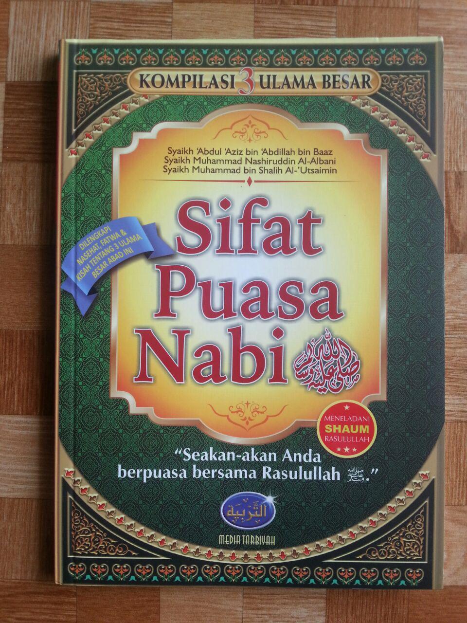 Buku Sifat Puasa Nabi Kompilasi 3 Ulama cover 2