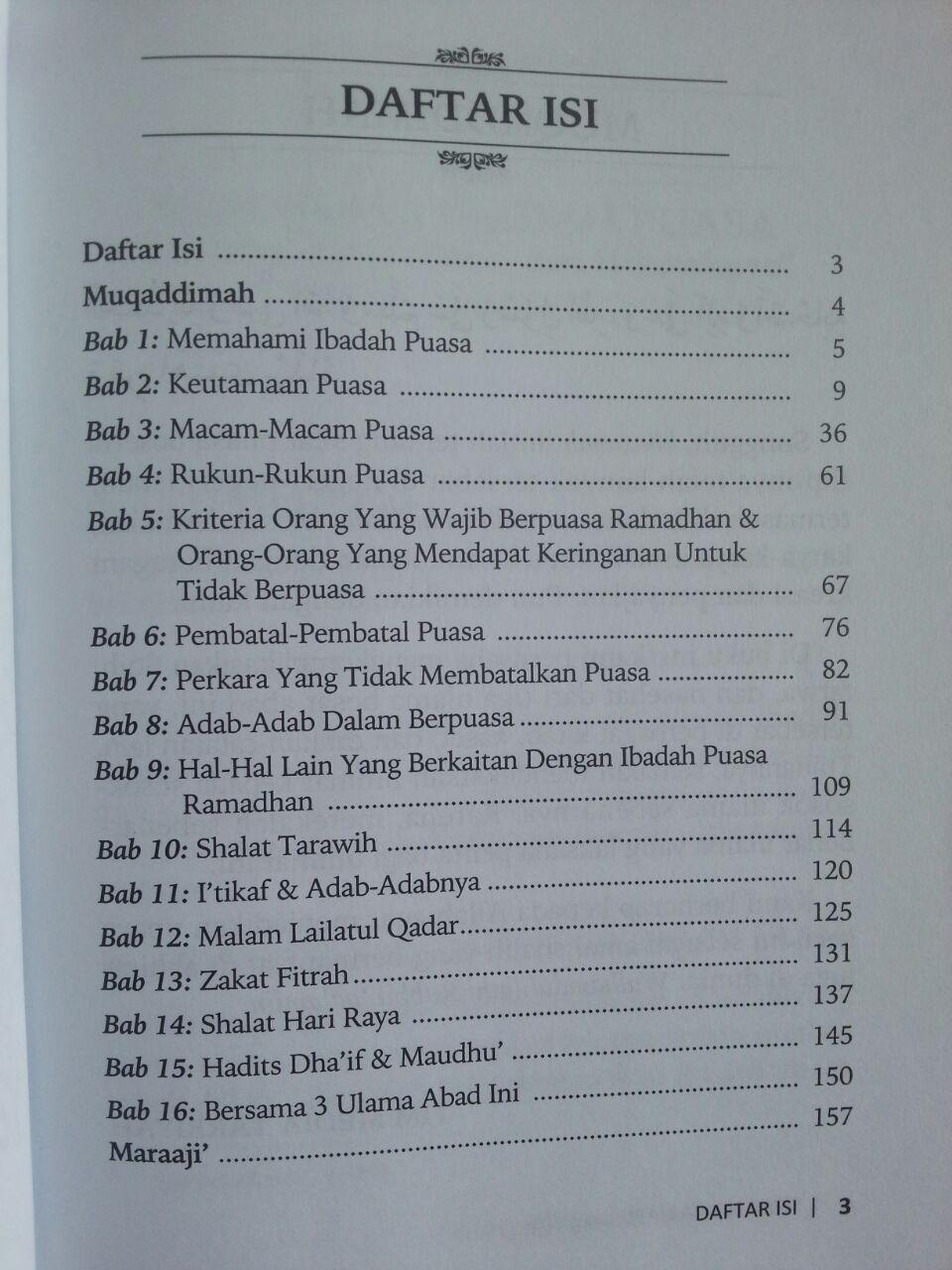 Buku Sifat Puasa Nabi Kompilasi 3 Ulama isi 2