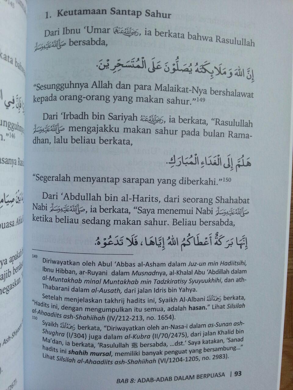 Buku Sifat Puasa Nabi Kompilasi 3 Ulama isi 3