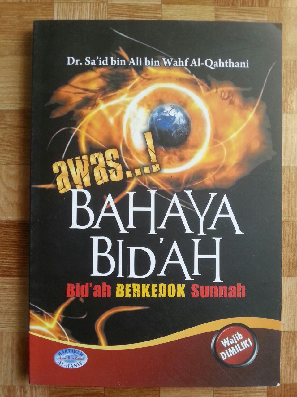 Buku Awas Bahaya Bidah cover 2