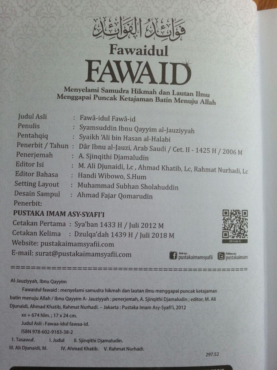 Buku Fawaidul Fawaid isi 3