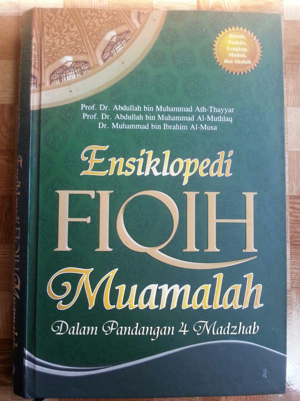 Buku Ensiklopedi Fiqih Muamalah Dalam Pandangan 4 Madzhab cover 2