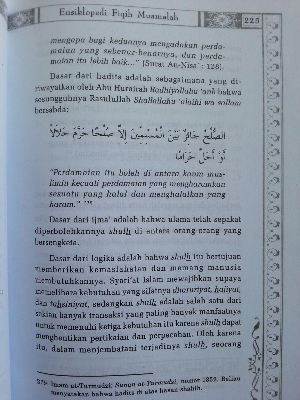 Buku Ensiklopedi Fiqih Muamalah Dalam Pandangan 4 Madzhab isi 3