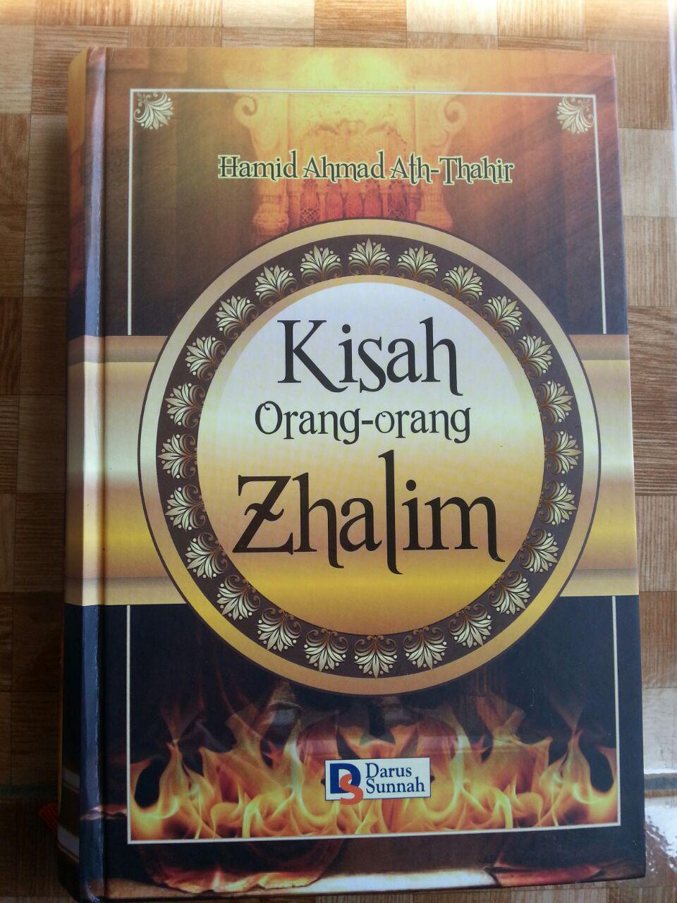 Buku Kisah Orang-Orang Zhalim cover 2