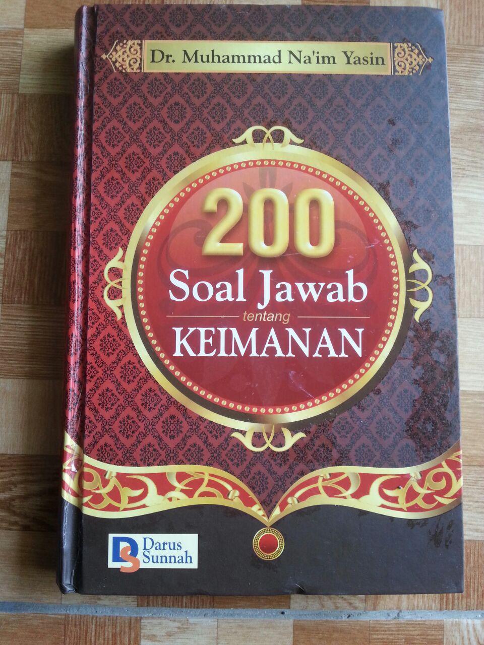 Buku 200 Soal Jawab Tentang Keimanan cover 2