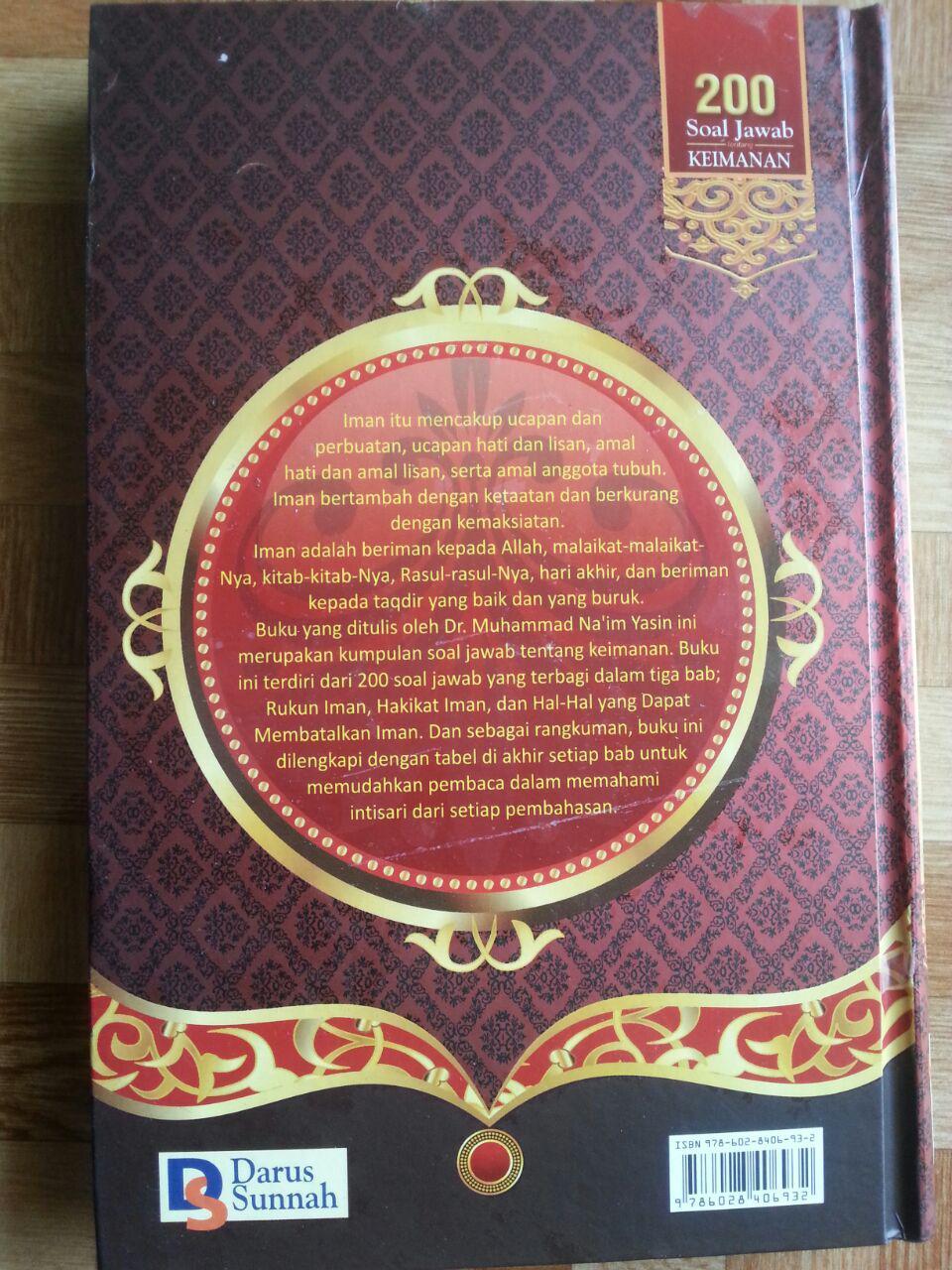 Buku 200 Soal Jawab Tentang Keimanan cover