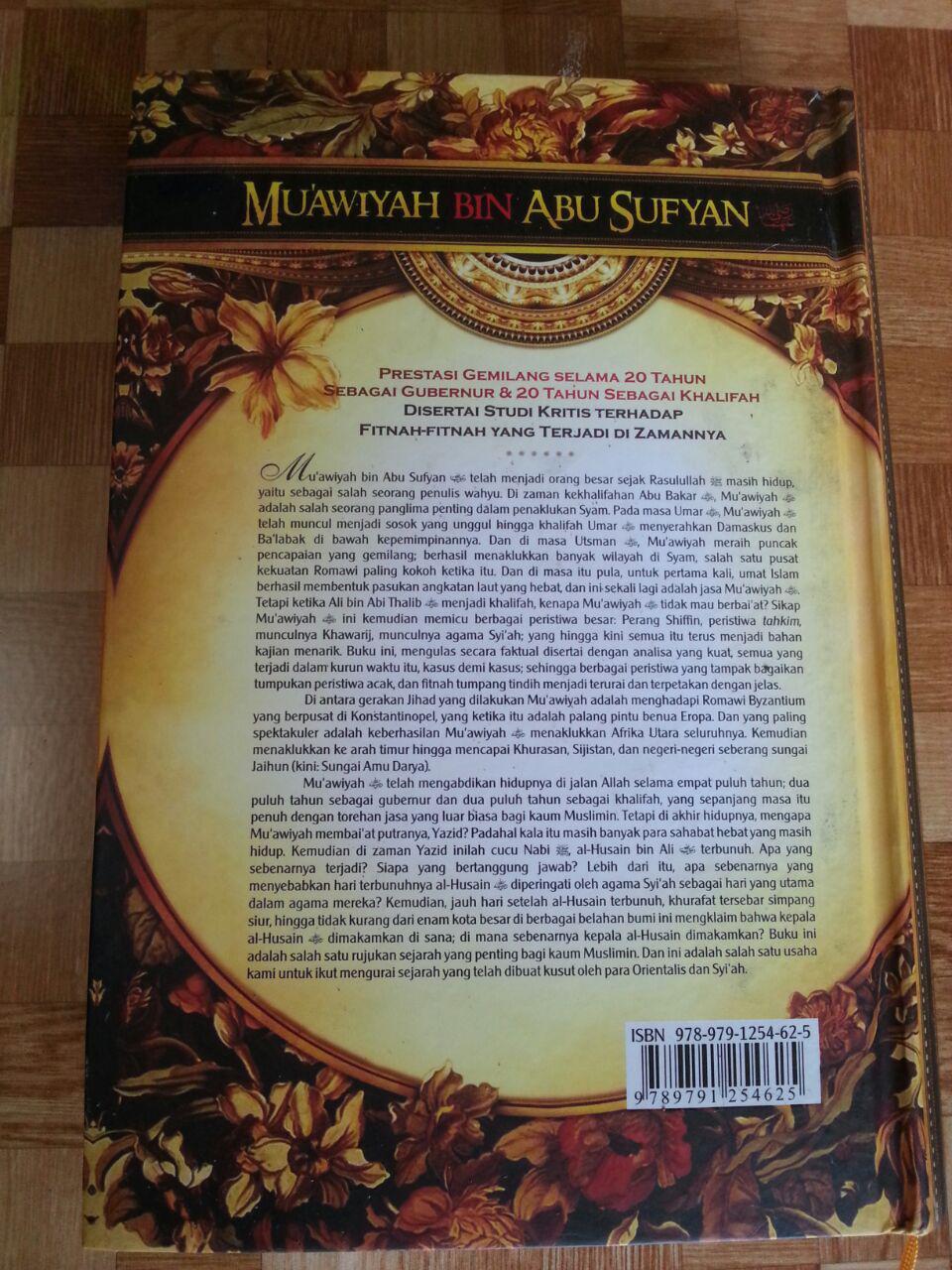 Buku Muawiyah Bin Abu Sufyan cover