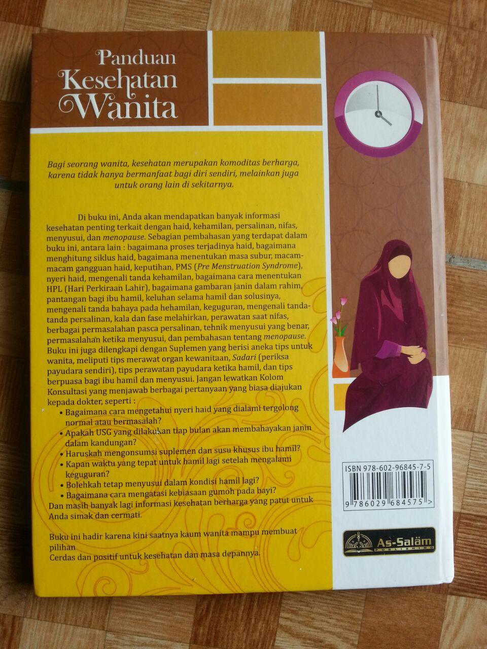 Buku Panduan Kesehatan Wanita cover