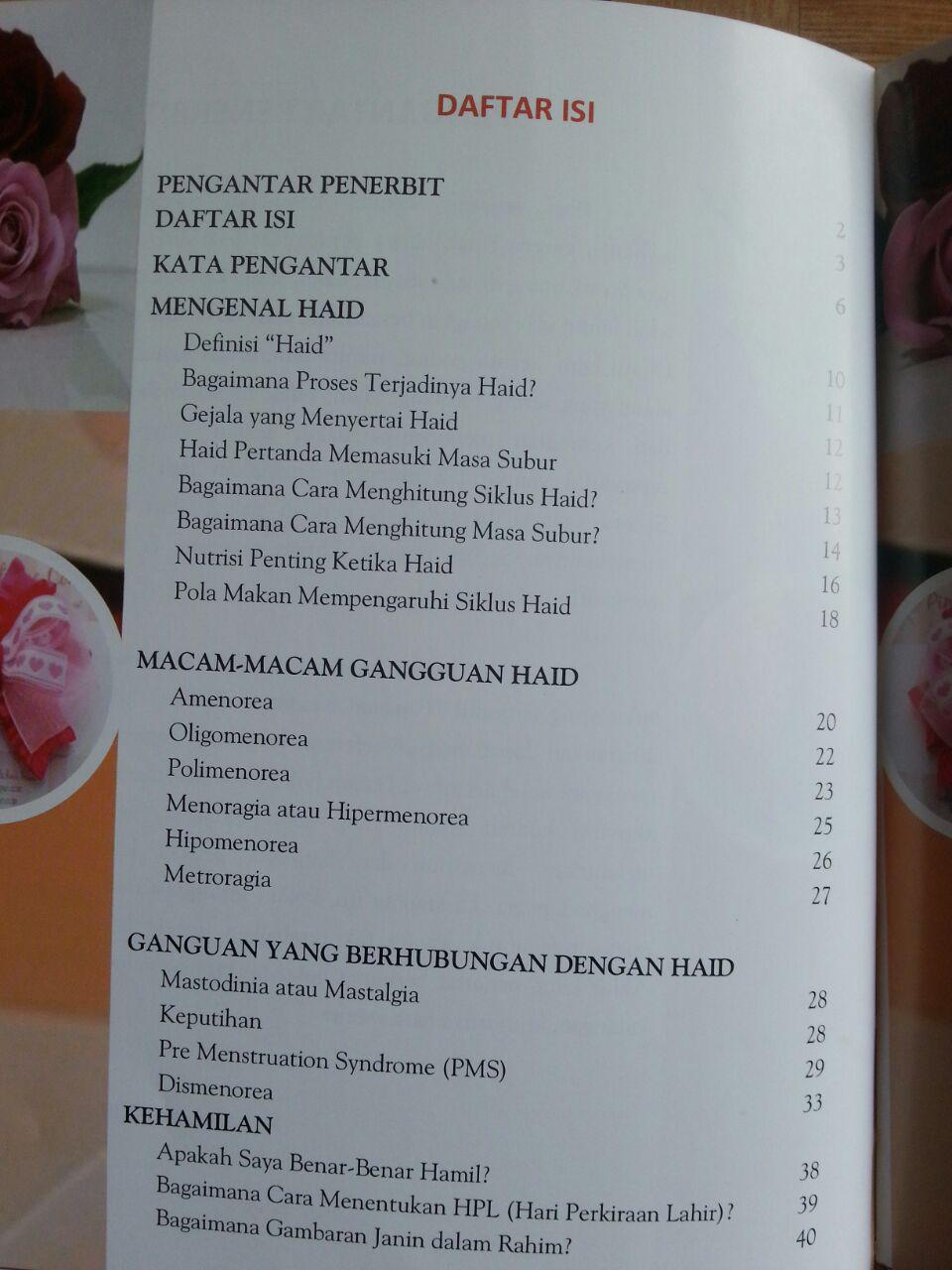 Buku Panduan Kesehatan Wanita isi