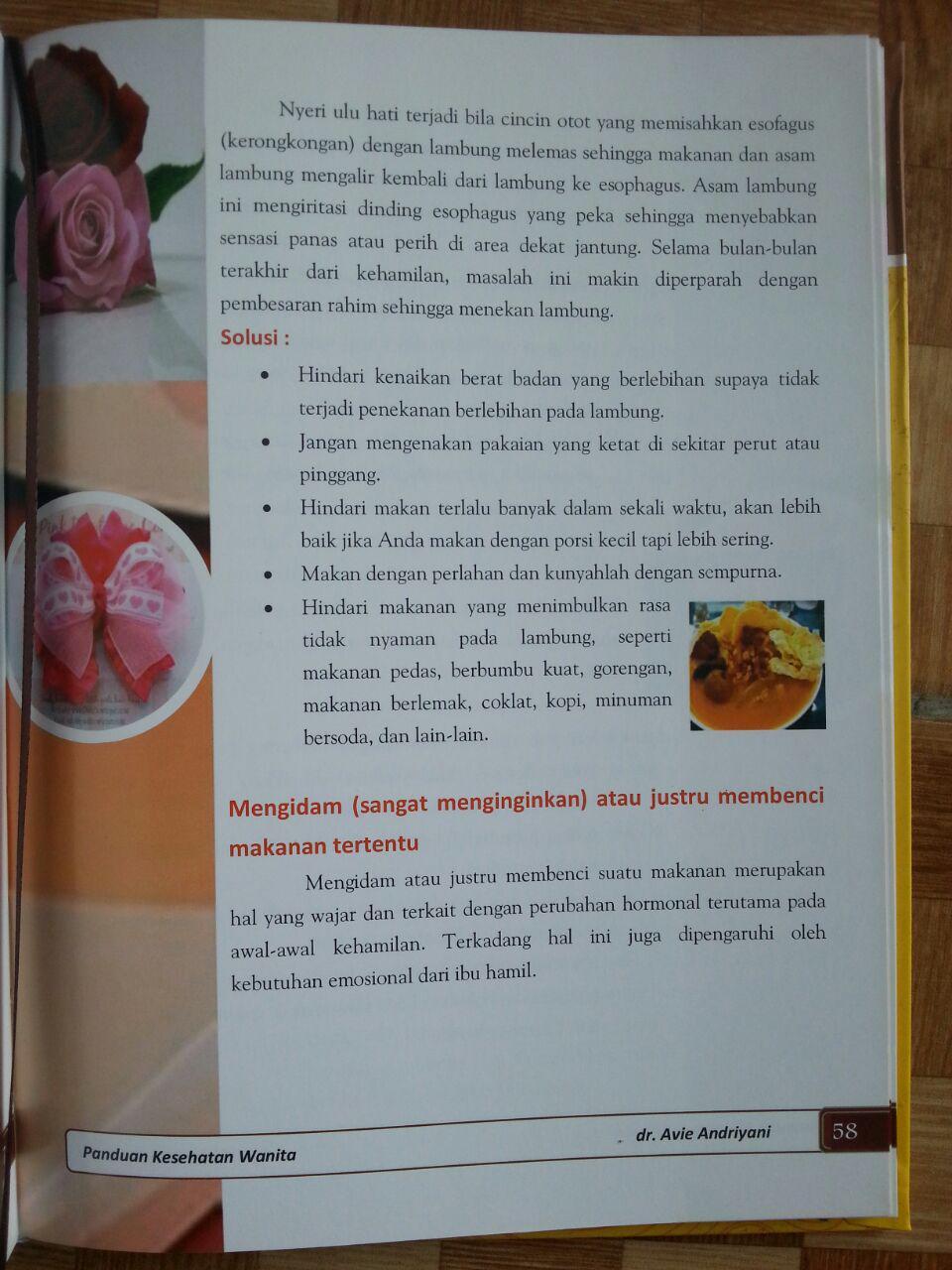 Buku Panduan Kesehatan Wanita isi 3