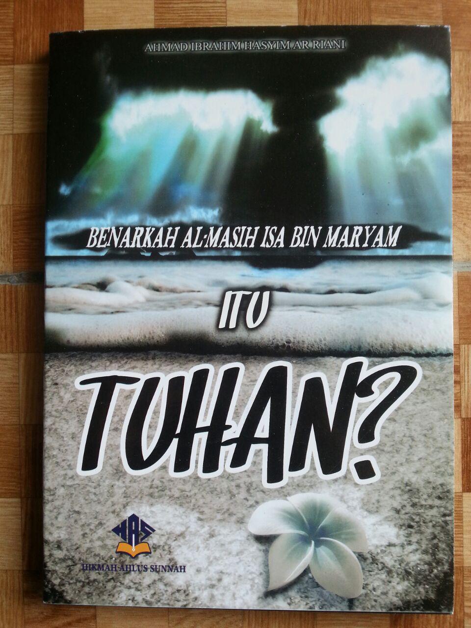 Buku Benarkah Almasih Isa Bin Maryam Itu Tuhan cover 2