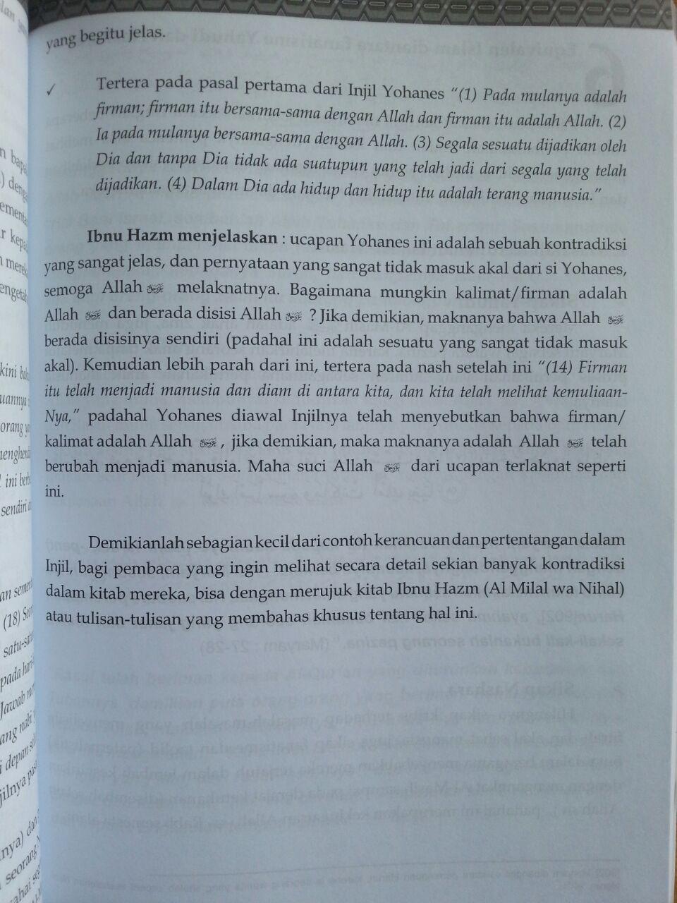 Buku Benarkah Almasih Isa Bin Maryam Itu Tuhan isi 2