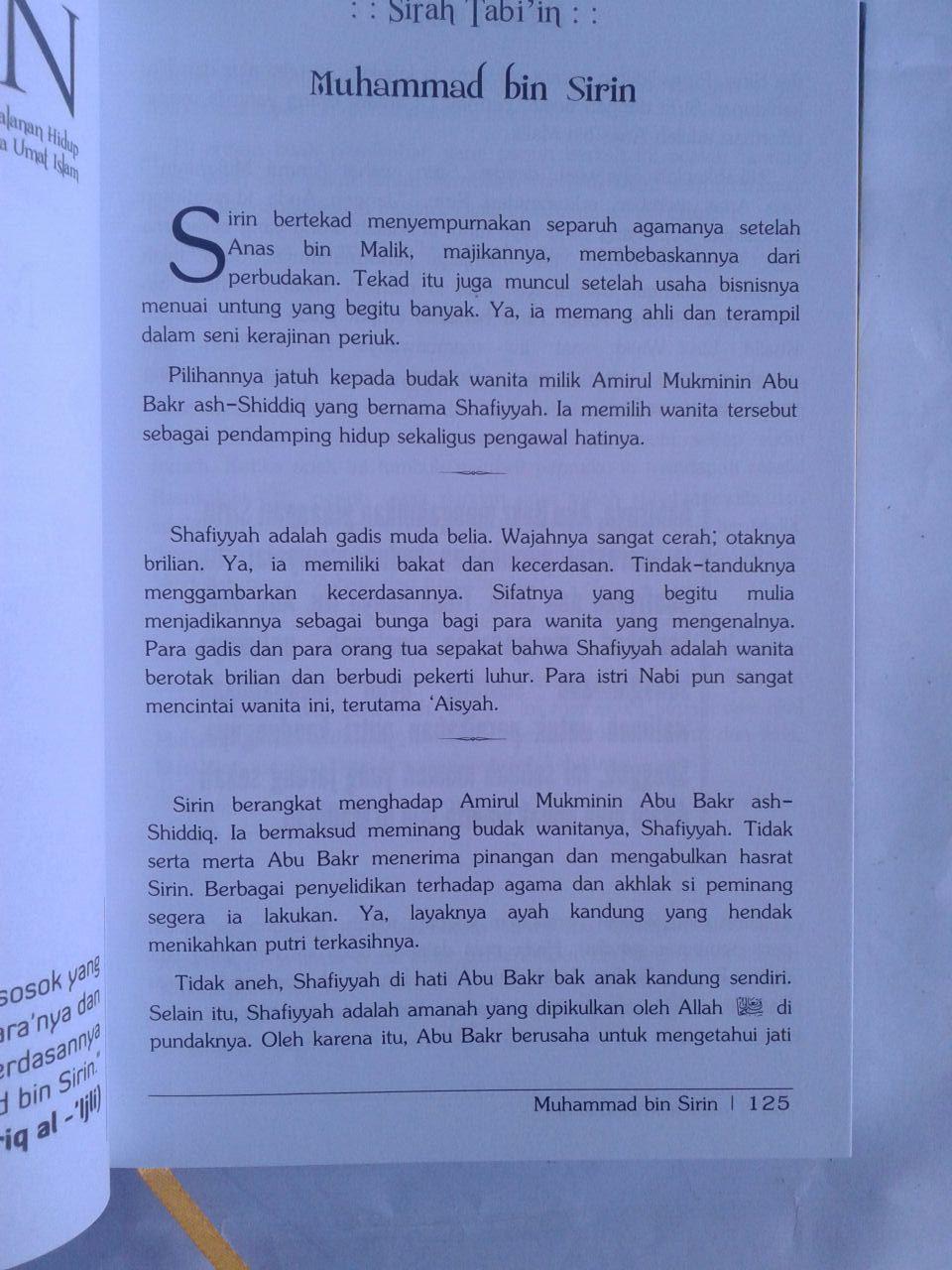 Buku Sirah Tabiin isi