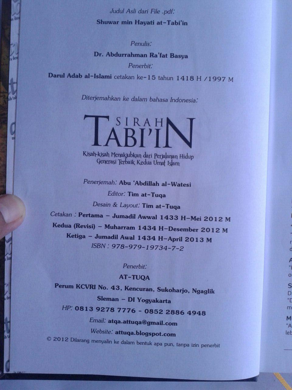 Buku Sirah Tabiin isi 2