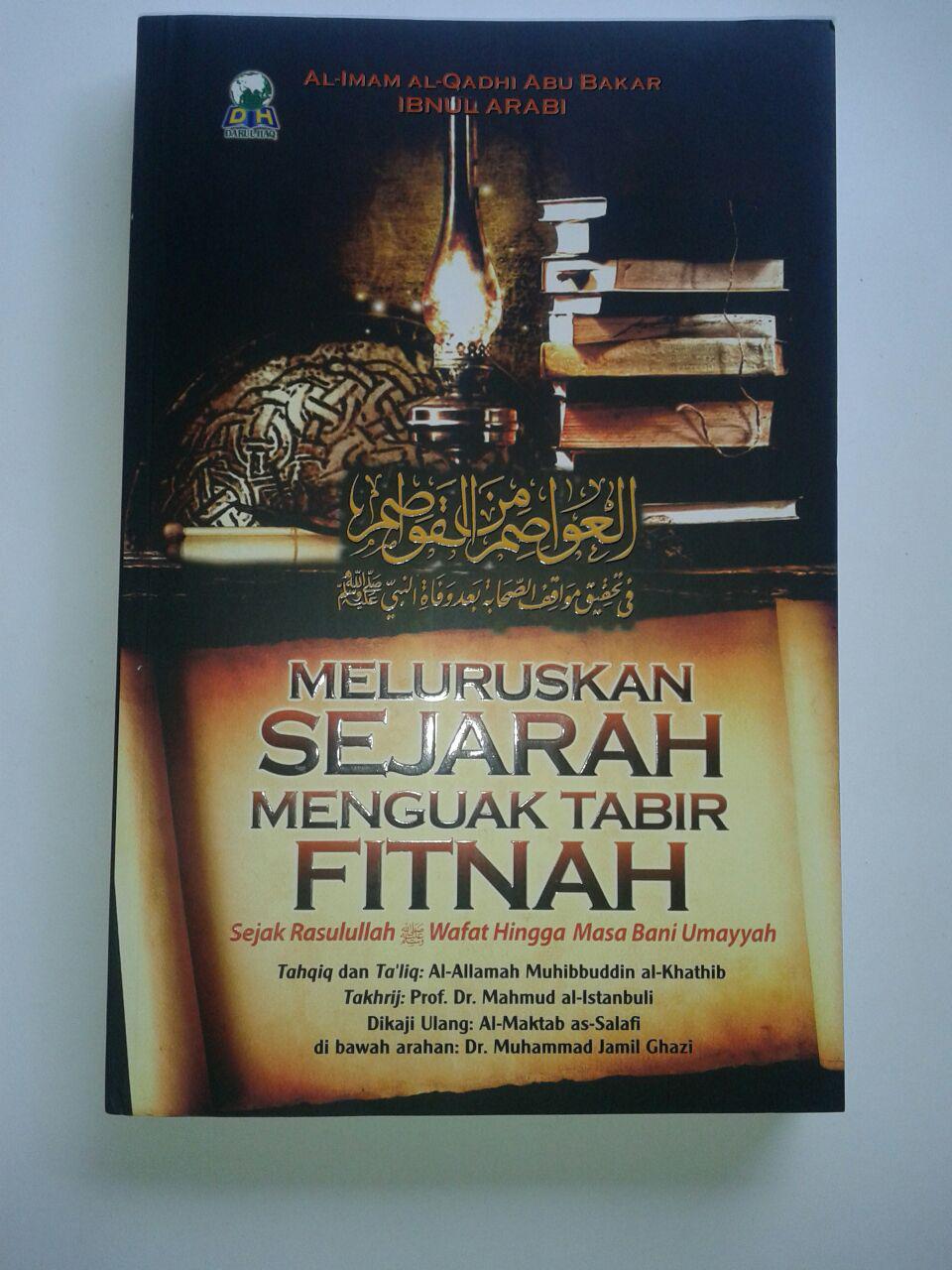 Buku Meluruskan Sejarah Menguak Tabir Fitnah cover 2