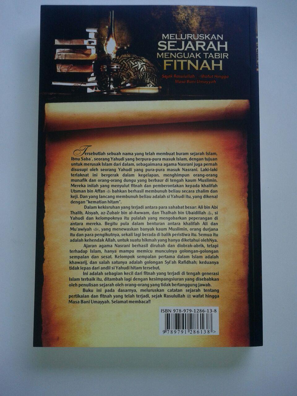 Buku Meluruskan Sejarah Menguak Tabir Fitnah cover