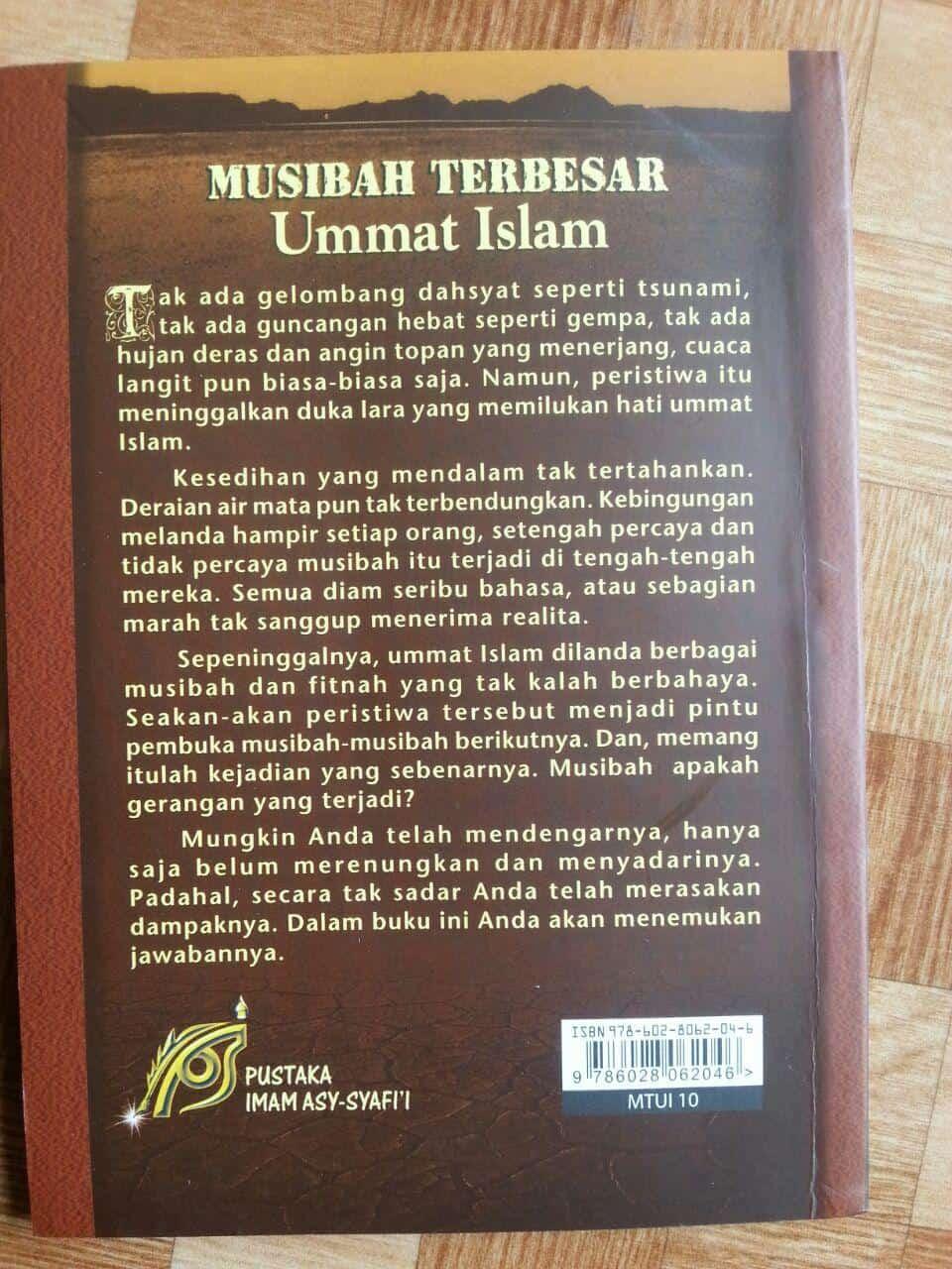 Buku Musibah Terbesar Umat Islam cover